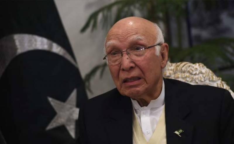 ICJ can't nullify Kulbushan's death sentence: Sartaj Aziz