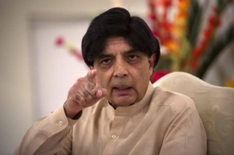 Pakistan to handle Jadhav case as an espionage case: Nisar