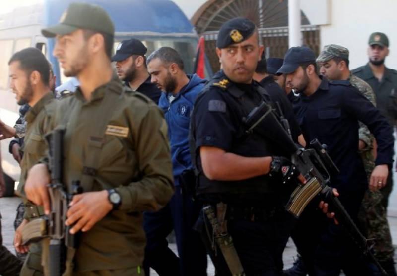 Three Palestinians sentenced to death
