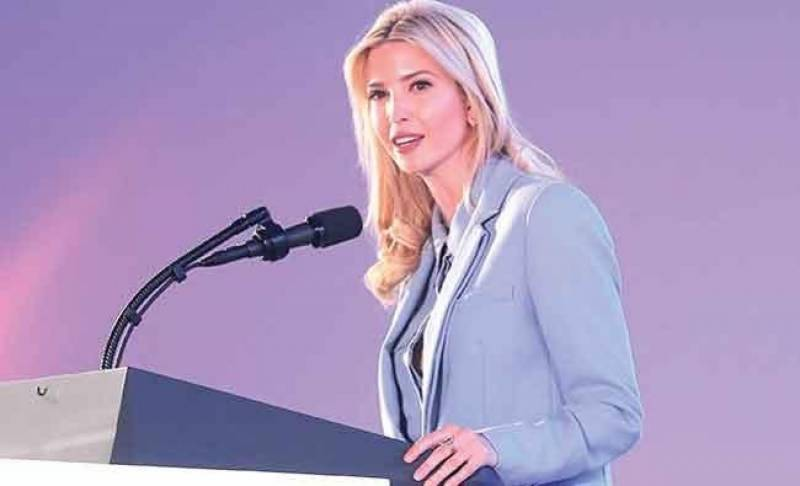 Ivanka Trump applauds women's empowerment in Saudi Arabia