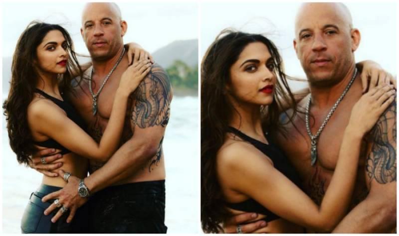 Vin Diesel is in love with me, admits Deepika