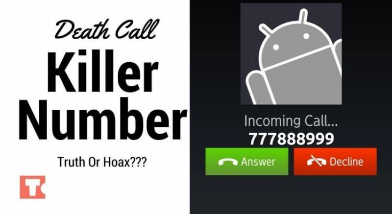 """""""777888999"""" scam: just a trick to spread terror swell"""