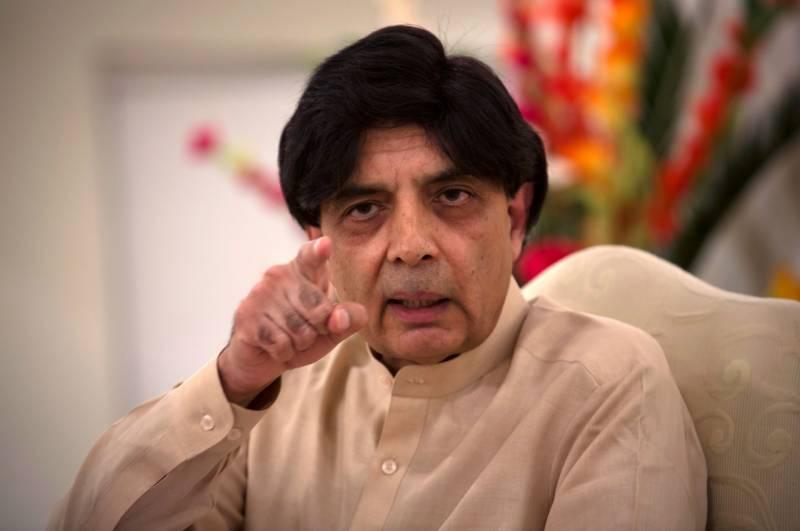 No plans to ban social media: Chaudhry Nisar