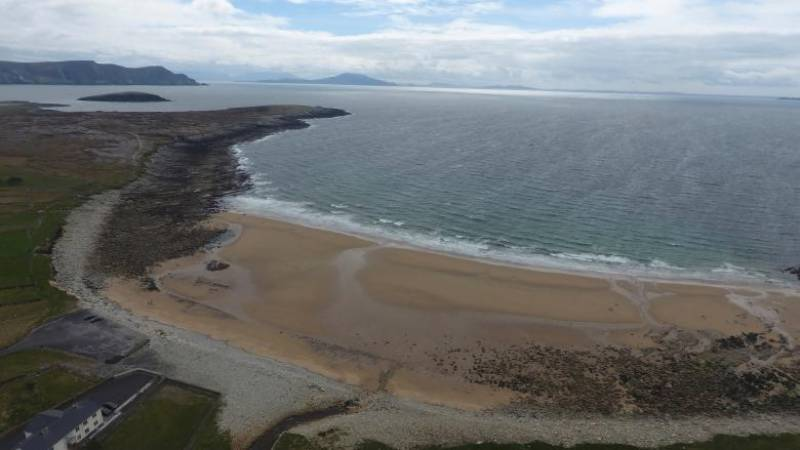 Irish beach reappears 33 years after vanishing