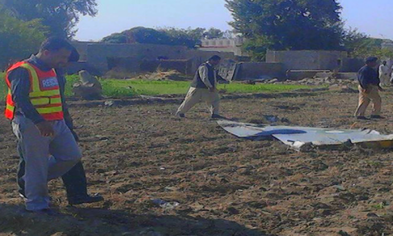 PAF training jet crashed near Mianwali