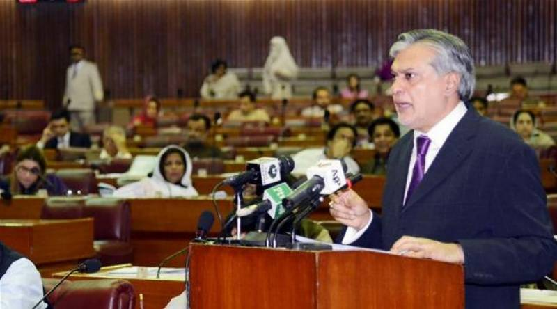 Ishaq Dar presents Rs 4.778 trillion FY 2017-18 budget in NA