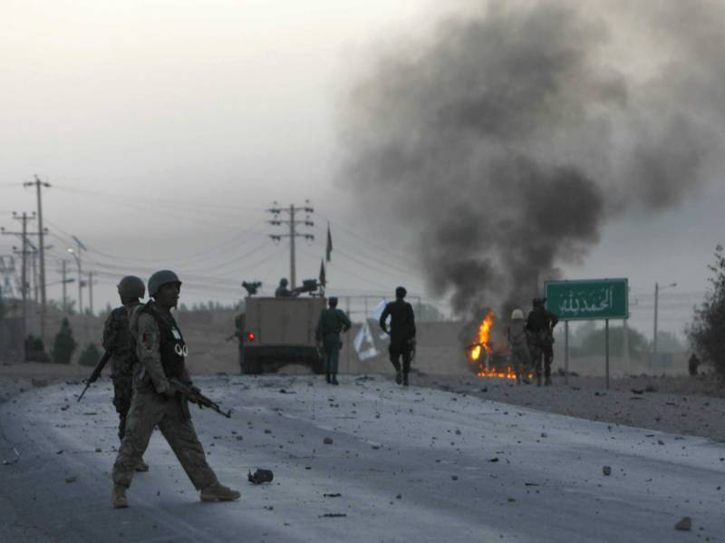 18 killed in Suicide attack in eastern Afghan city