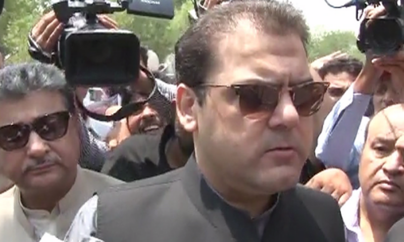 PM Nawaz's son Hussain Nawaz appears before JIT