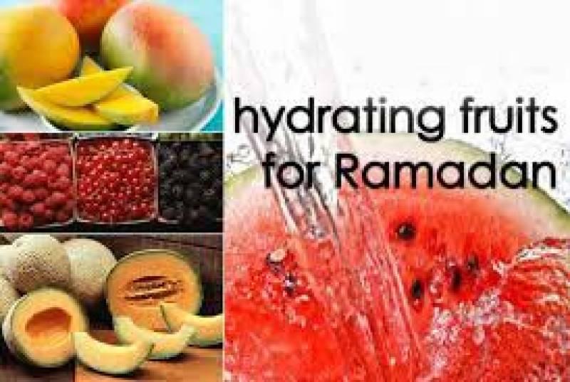 Hydrating fruits for 'Summer Ramadan'