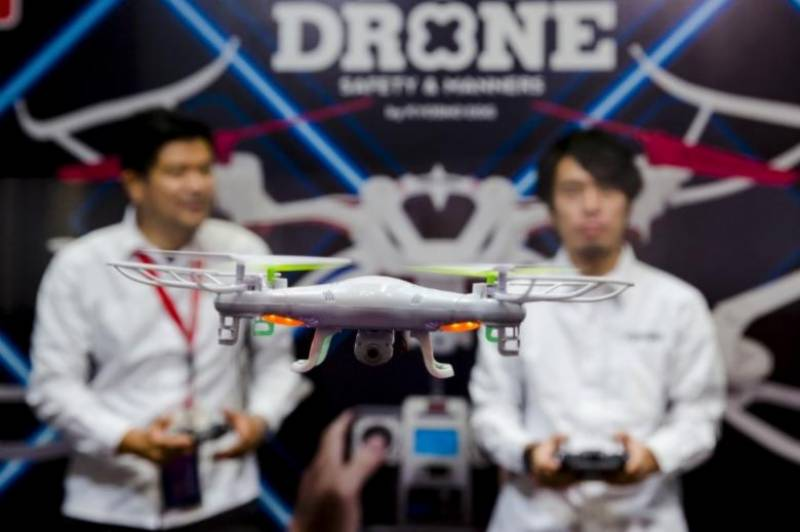 Japan to finalize strategy for drones, self-driving trucks on June 9