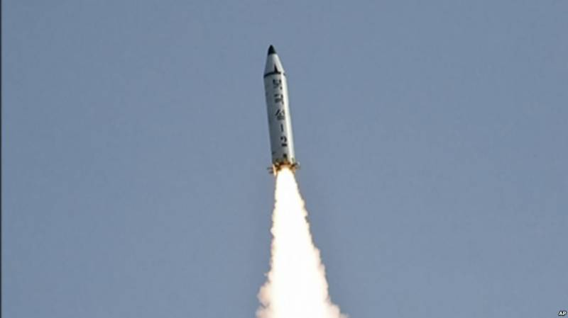 North Korea fires another ballistic missile