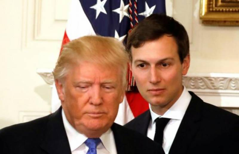 Trump dismisses 'fabricated, fake news' report of son-in-law Kushner's outreach to Russia