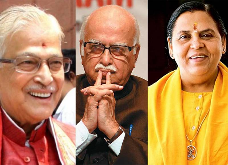 Indian court charges top politicians in Babri Masjid case