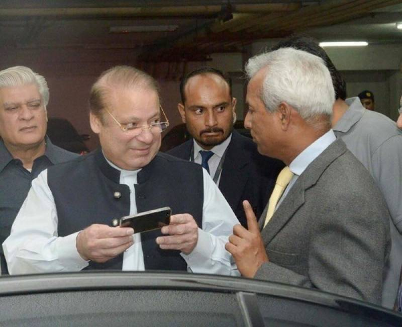 PM Nawaz suspends Nehal Hashmi's party membership, directs to resign from Senate
