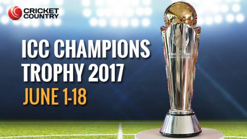 ICC champions trophy begins