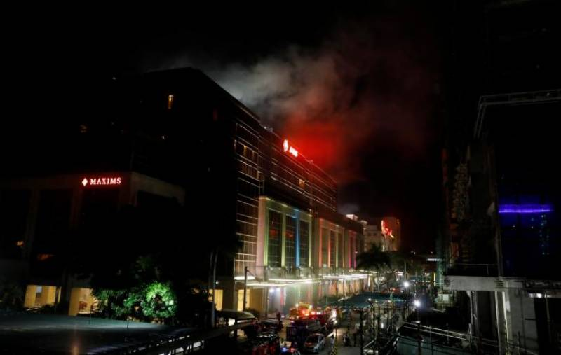 35 dead in attack on Philippines casino