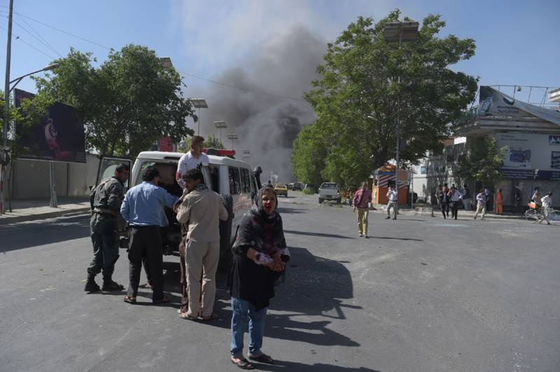 3 explosions hit funeral in Kabul, at least 20 people dead