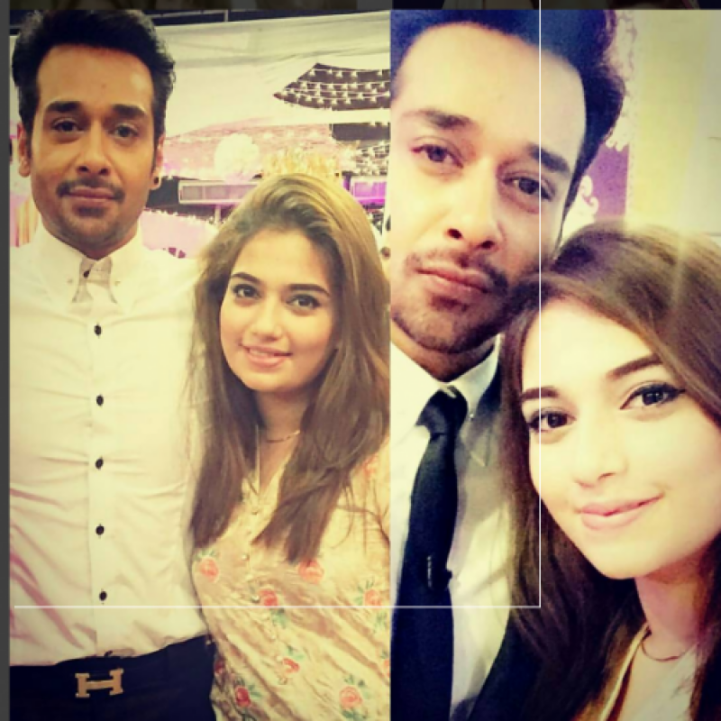 Faysal Qureshi's daughter 'Hanish' ready to make it to Television