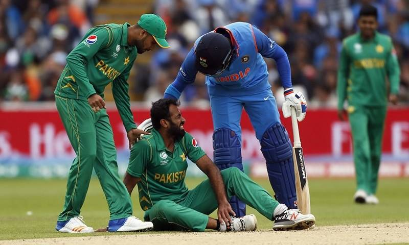 Champions Trophy 2017: Wahab Riaz declared unfit for remaining matches