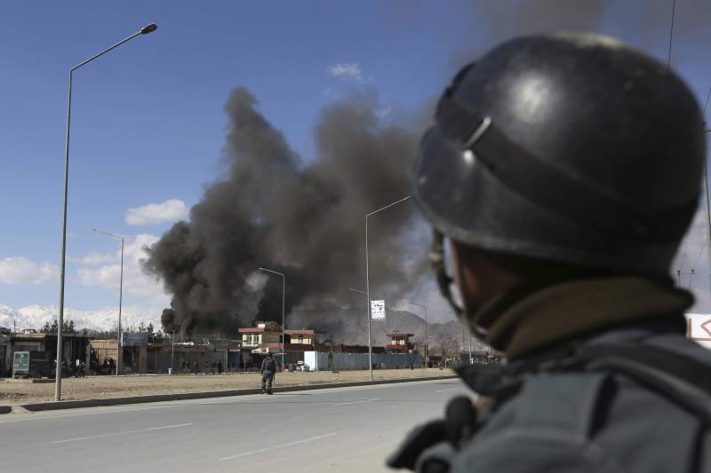Indian diplomatic compound in Kabul attacked
