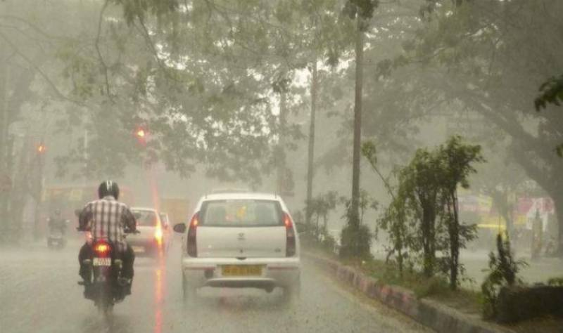 Rain with gusty winds expected at scattered places in country