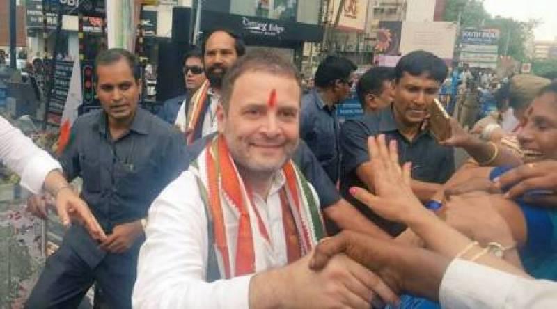 Rahul Gandhi arrested on way to Madhya Pradesh