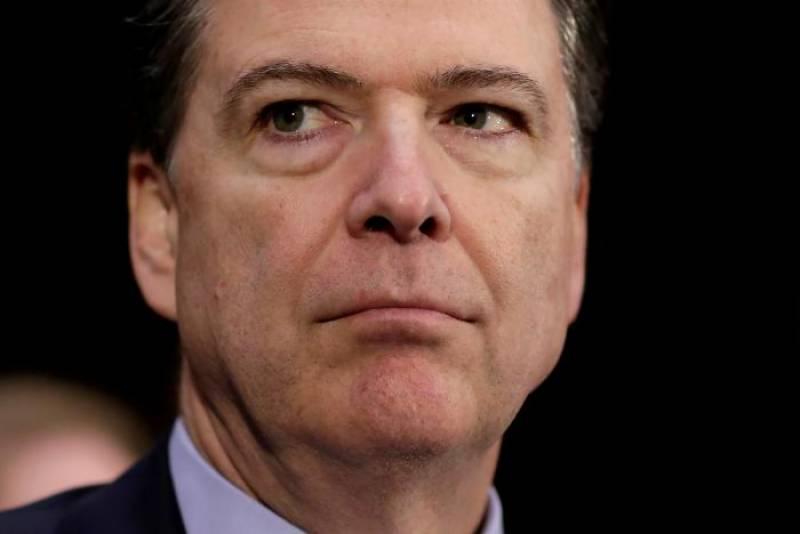 Trump pressurized Ex-FBI chief Comey on Russia probe: claim in U.S. senate