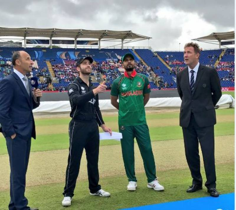 Champions Trophy 2017: Blackcaps decides to bat first against Bangladesh