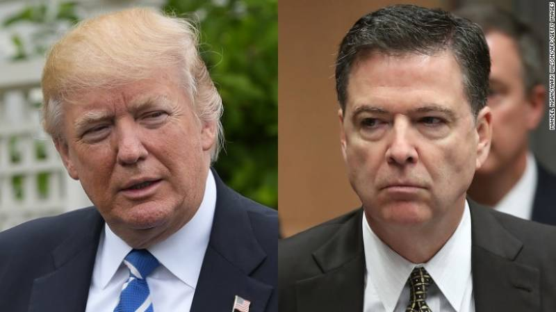 Donald Trump ready to counter Comey allegations under oath