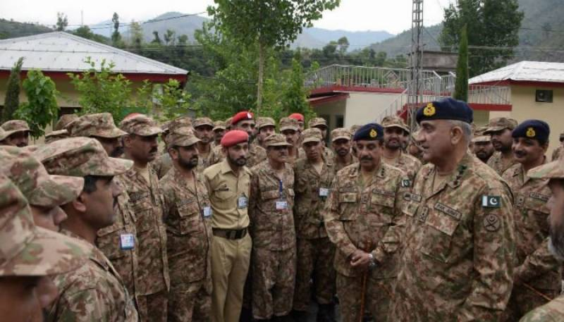 Pak army will give befitting response to Indian misadventures: COAS