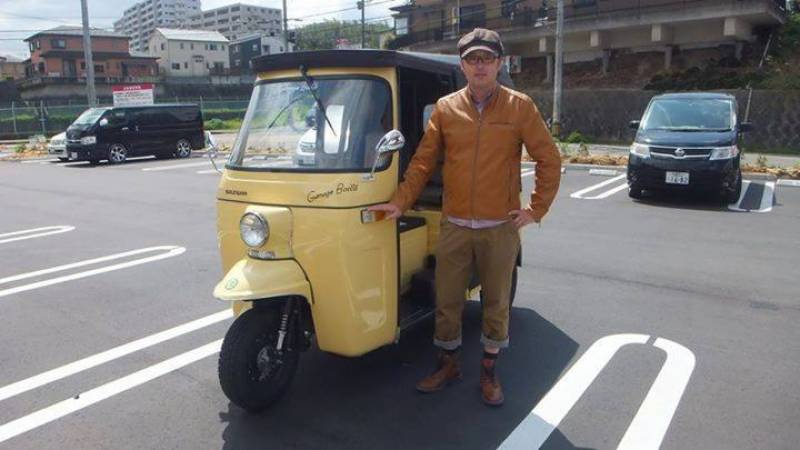Pakistani stunning Rickshaws becoming popular among Japanese, exports rise