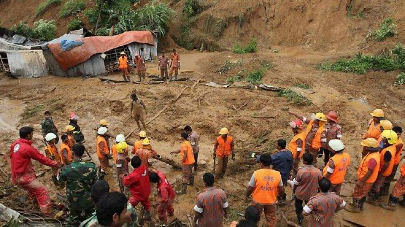 Bangladesh landslides: Death toll rises to 94