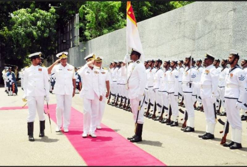 Pak naval chief reaches Sri Lanka for 5-day official tour