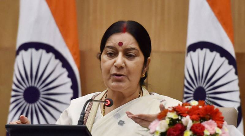 No chance of third party intervention on Kashmir issue: Sushma Swaraj
