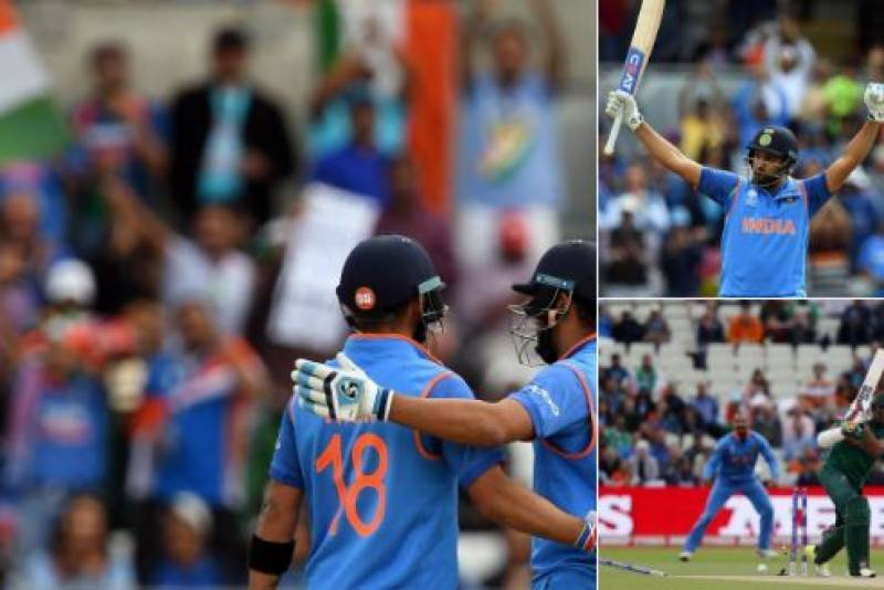 India qualify for ICC Champions Trophy final