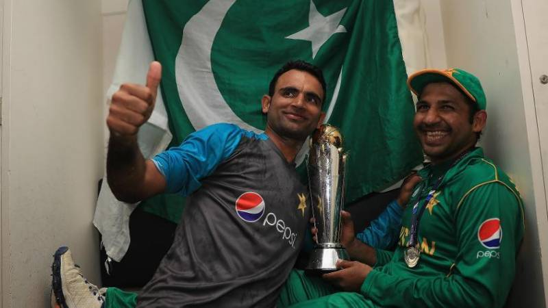 ICC announces Sarfraz Ahmed as captain of team ICC Champions Trophy 2017