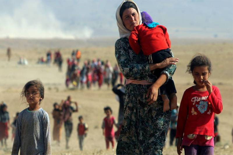 Number of global displaced up to 65.6m last year: UN