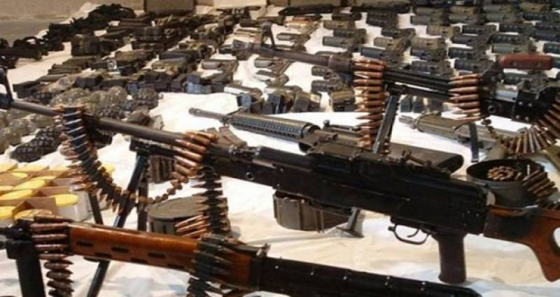 Huge cache of weapons seized from Waziristan