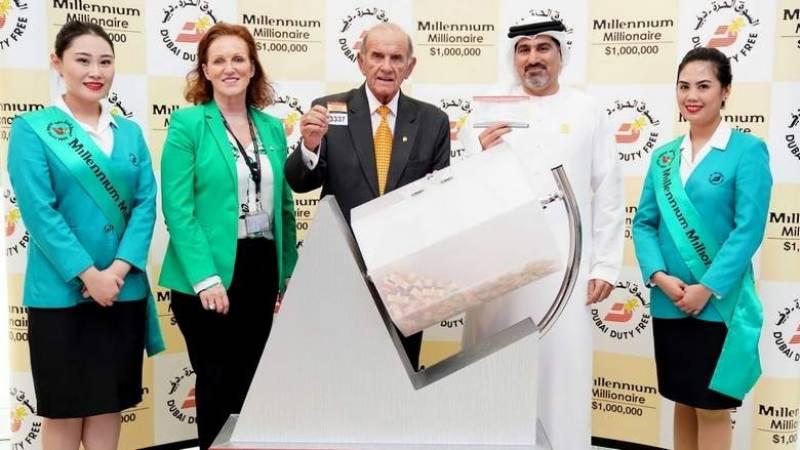 Pakistani becomes Millionaire at Dubai Duty Free Millennium