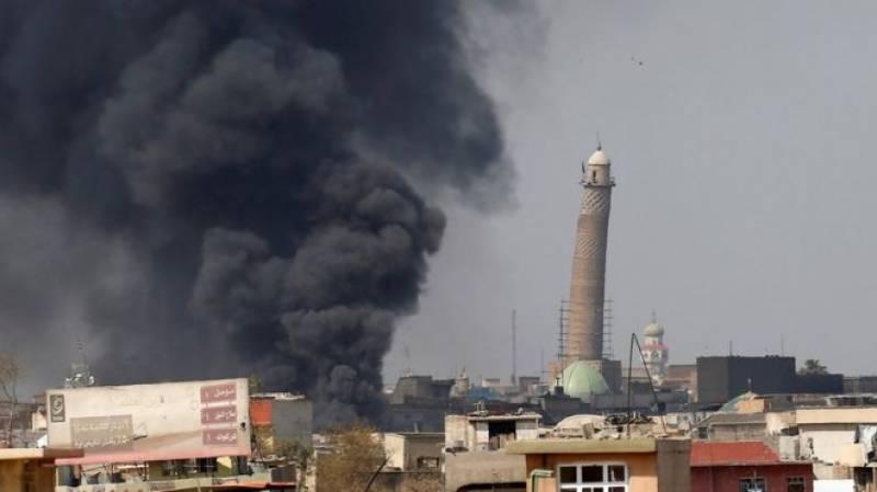IS blows up Mosul's historic Grand al-Nuri mosque
