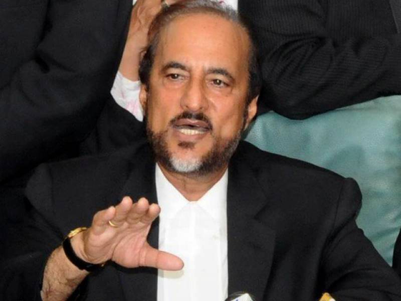 Babar Awan joins PTI, parts ways with PPP