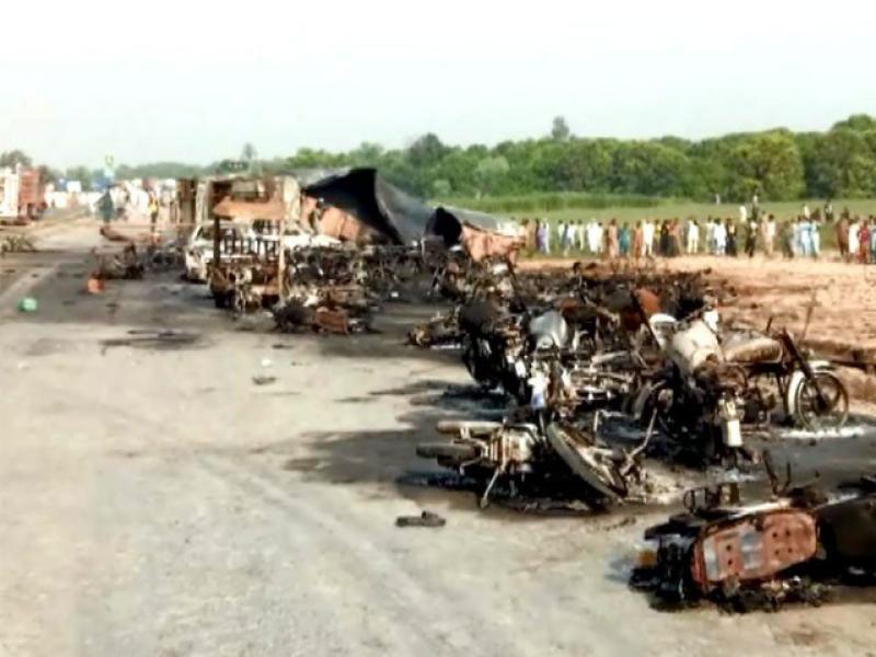 Bahawalpur: 132 burnt to death, 100 injured in oil tanker fire