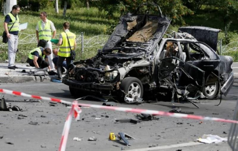 Ukrainian military intelligence colonel killed in Kiev car blast