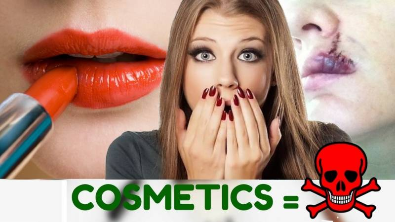 Cosmetics comprise increasing harmful side effects: reports