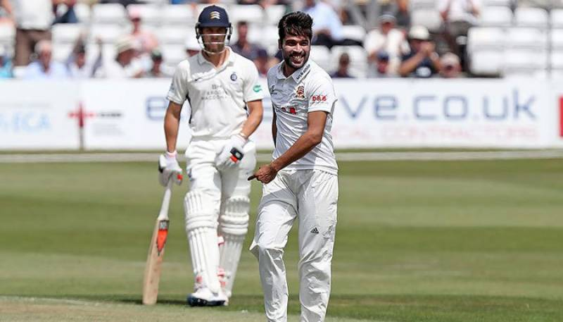 Amir debut performance at county cricket surprises all