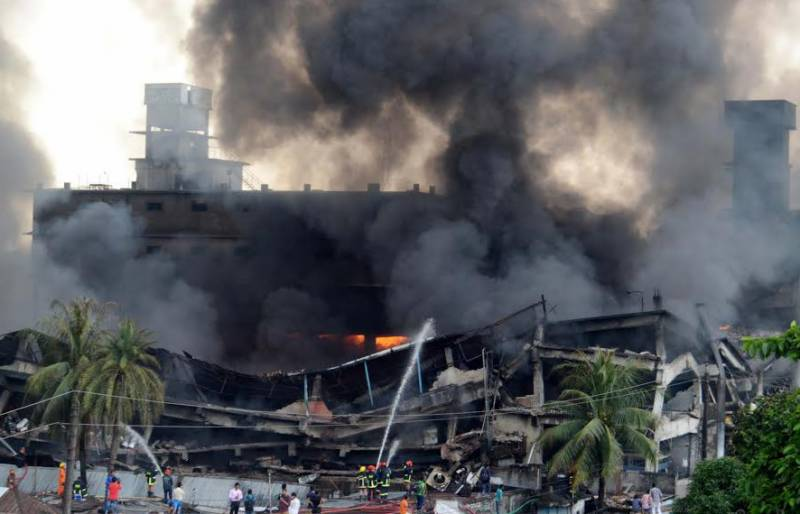 10 killed, dozens injured, in Bangladesh garment factory blast