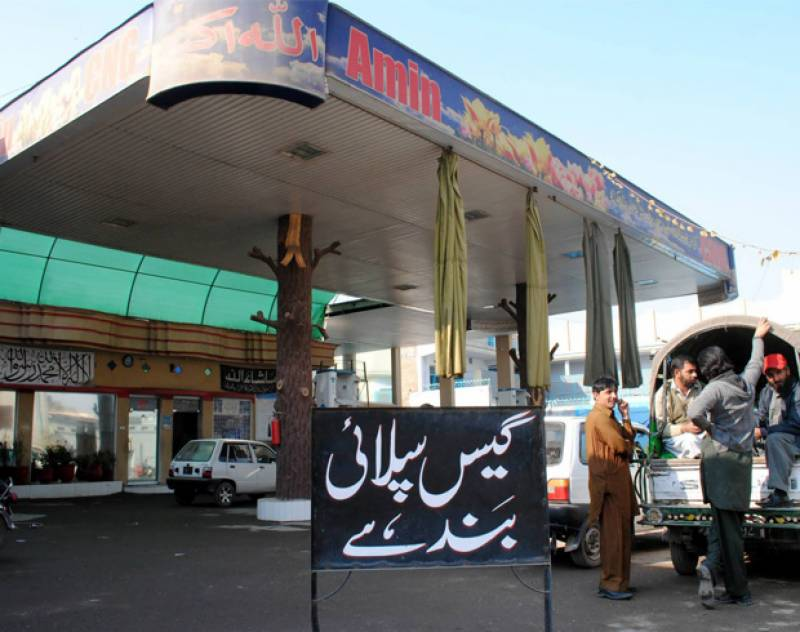 SNGPL suspends gas supply to CNG stations, industries across Punjab