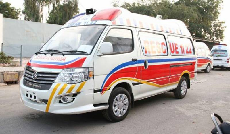 Three siblings killed as train hits motorbike in Gojra