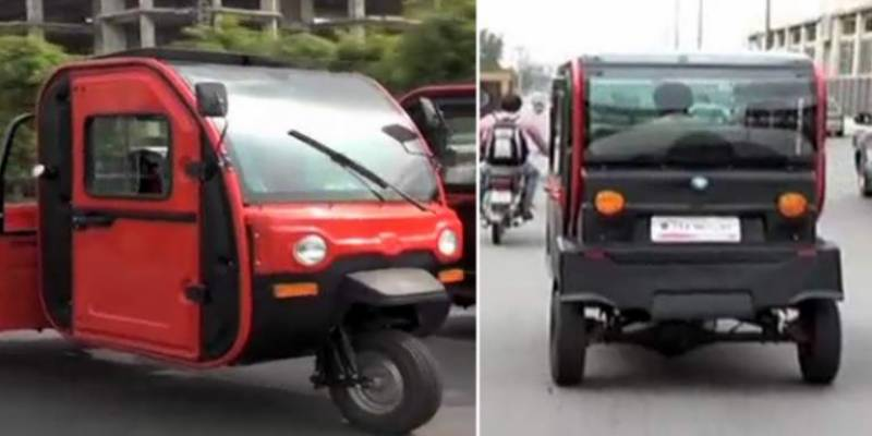 Lahoris get ready to ride on air-conditioned electric rickshaw