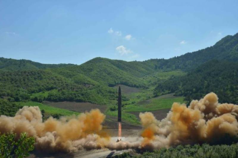 North Korean ICBM carry nuclear warhead, U.S. reacts